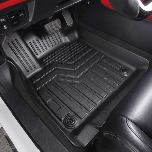 Luxury 5d Mat All Cars TPO TPE Custom Car Floor Mats Waterproof