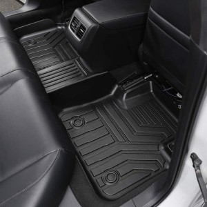 Waterproof Non Skid Luxury TPO TPE Rubber Mats Car Floor Mats