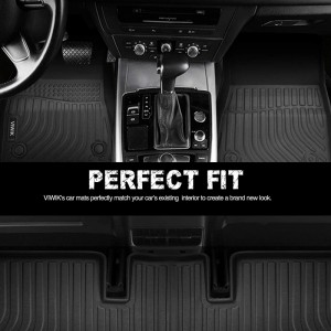 Anti Slip Waterproof 3D Custom All Weather Car Floor Mats For Girls