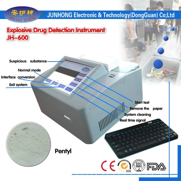 Cheap price Full Automatic Checkweighers - Drugs Detector with Big Database – Junhong