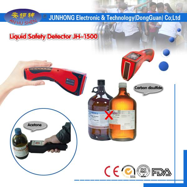 Handheld operatione securus Liquid Detector