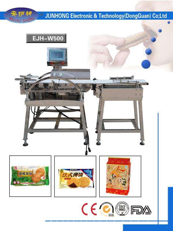 Full Automatic Food Check Weigher.Light Food Check Weigher