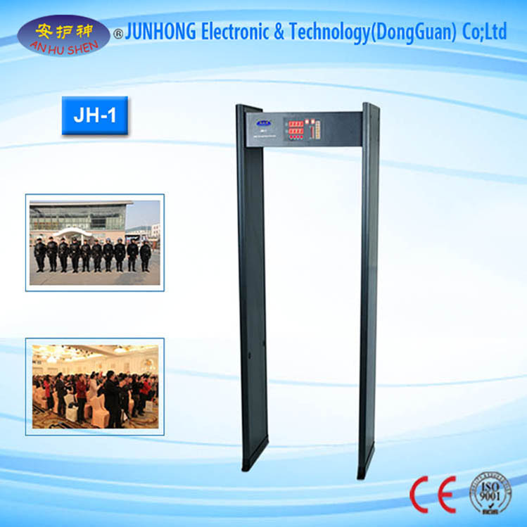 Factory Promotional Vehicle Chassis Security Scanning System - High Sensitivity Walkthrough Metal Detector – Junhong