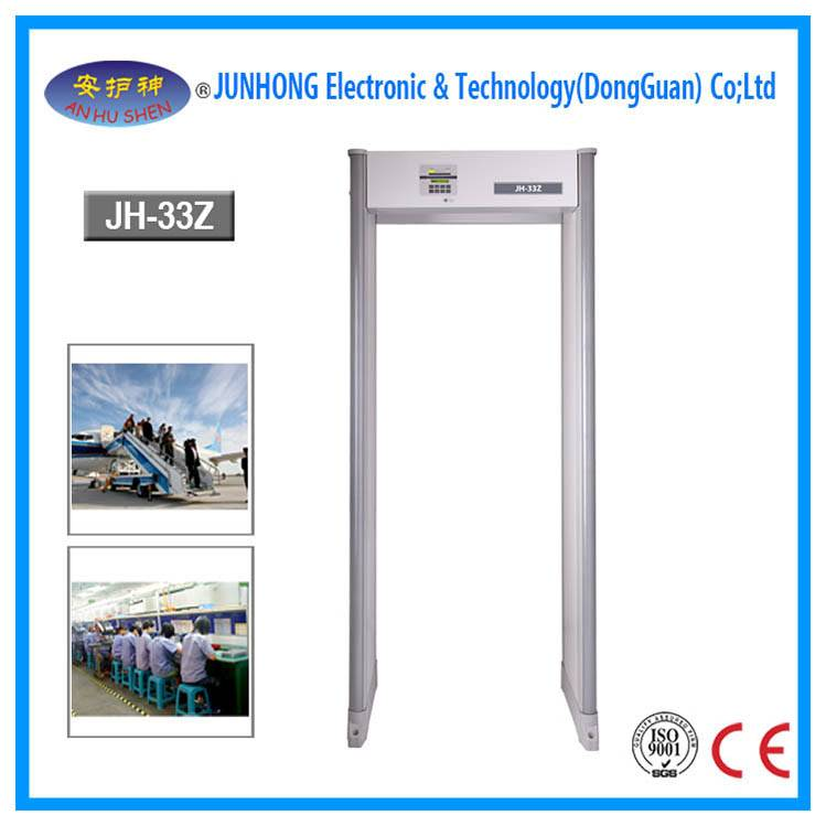 Newly Arrival Body Composition Analyzer - Walkthrough Metal Detector with Traffic Lights – Junhong