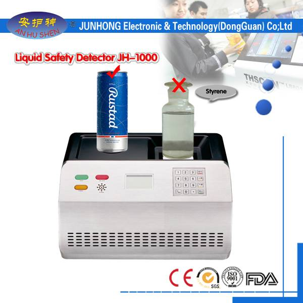 Liquid Security Scanner With Environment Friendly Technology