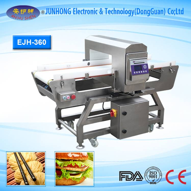 Factory Free sample Checkweigher Used Scale - Touch screen intelligent Food metal detector – Junhong