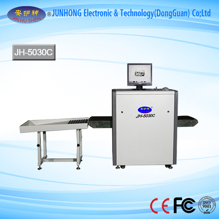 X ray scanning machine for securiy checking