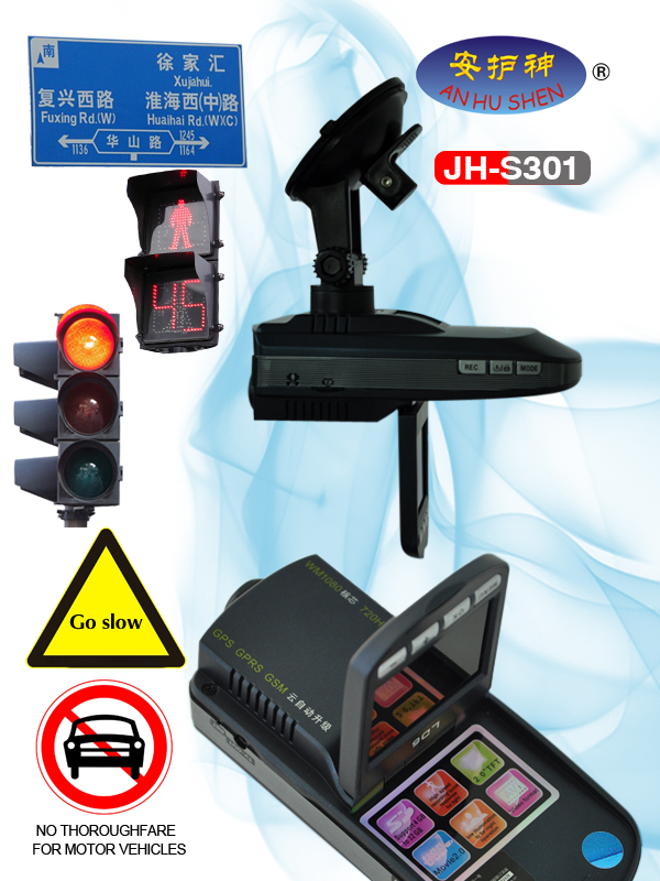 Car Radar Detector with GPS System