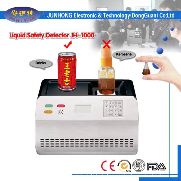 Airport Security Inspection Hand Held Liquid Scanner