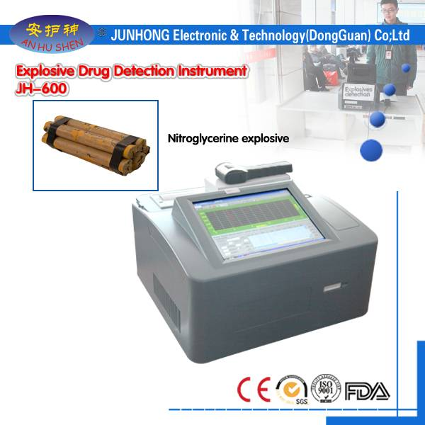 China Manufacturer for X-ray Baggage Inspection Scanner - 2.8 Inches Touch Screen Bomb Detector – Junhong