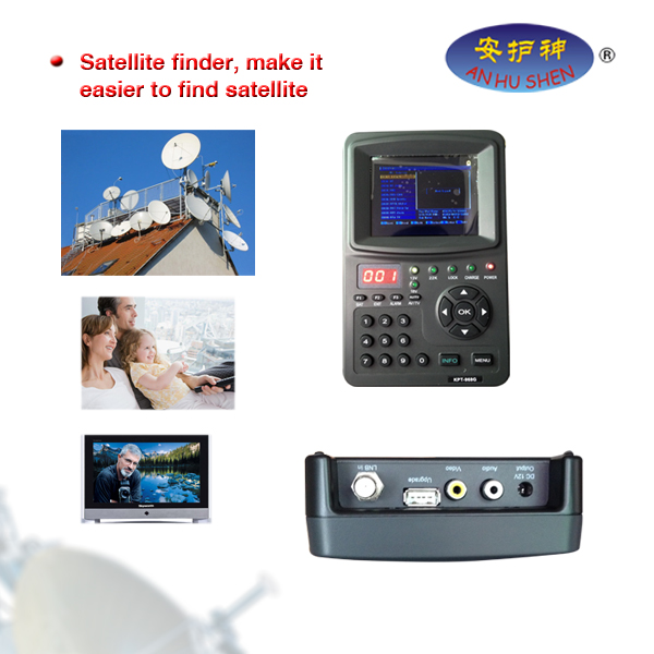 Digital Satellite Signal Finder Meter LCD displejs