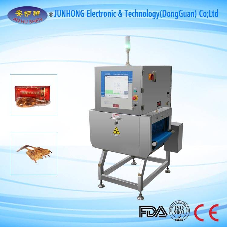 X-ray food detector for food processing industry