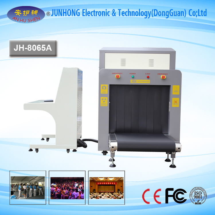 X-ray Baggage Scanner with Latest Technology