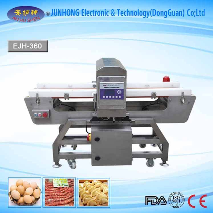 High definition Box Checkweigher - Snack Food Metal Detector With Anti-Erosion – Junhong
