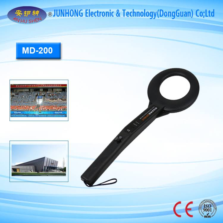 Factory Cheap Hot Digital Satellite Receiver China - Highly Sensitive Hand Held Metal Detector – Junhong
