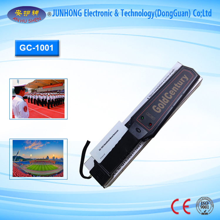 Wholesale Price Gemstone Detector - Hand Held Metal Detector with Battery Charger – Junhong