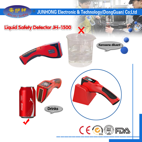 Security pagsusi Handheld Liquid Scanner