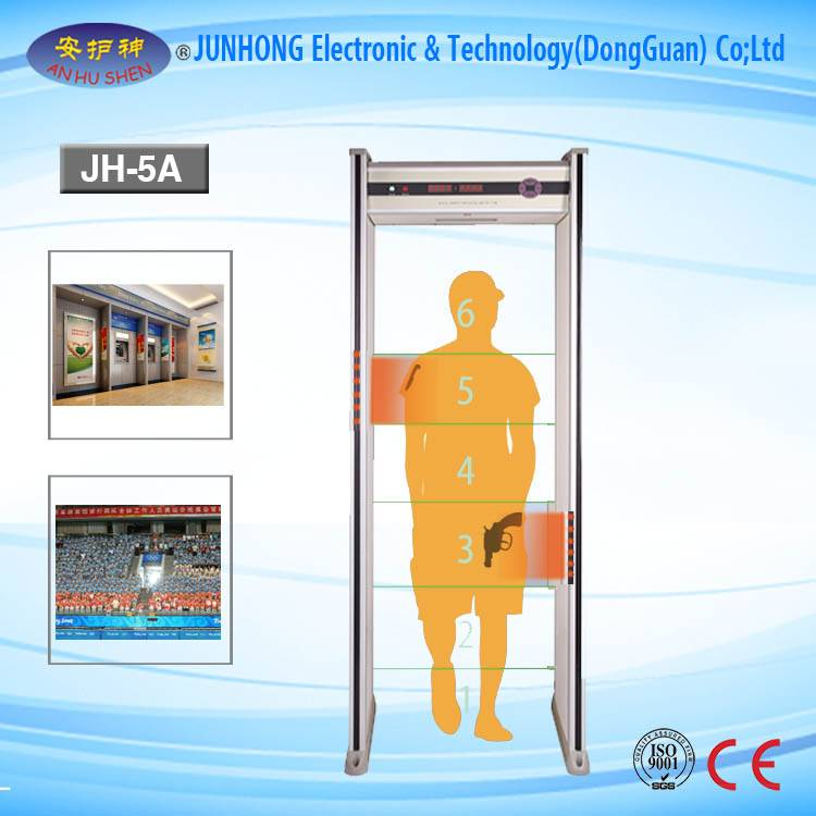 OEM/ODM Supplier Long Range Gold Locator - Full Body Scanner Factories Shop Detector Door – Junhong