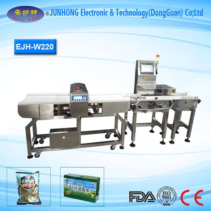 Factory Cheap Hot Needle Detector Conveyor Belt - High Speed Snacks Check Weigher Machine – Junhong