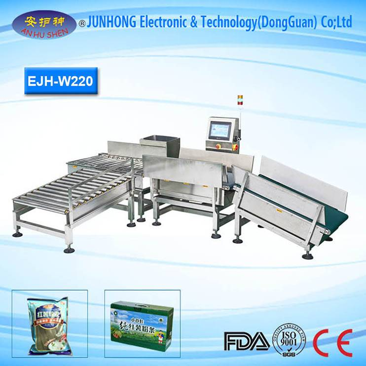 High accuracy tablet industrial check weigher
