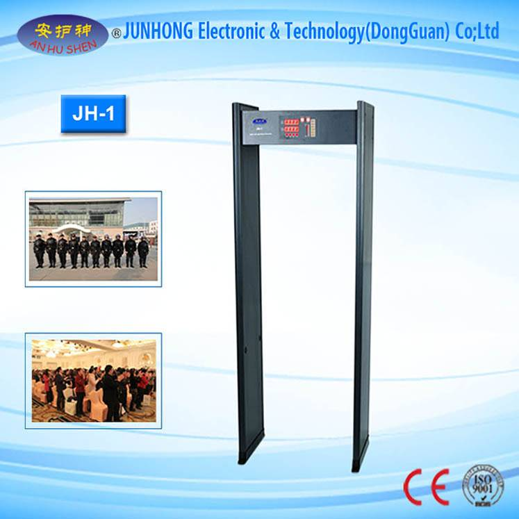 High Quality for X Ray Gold Testing Analyzer - Public Security Walk Through Metal Detector For Station – Junhong