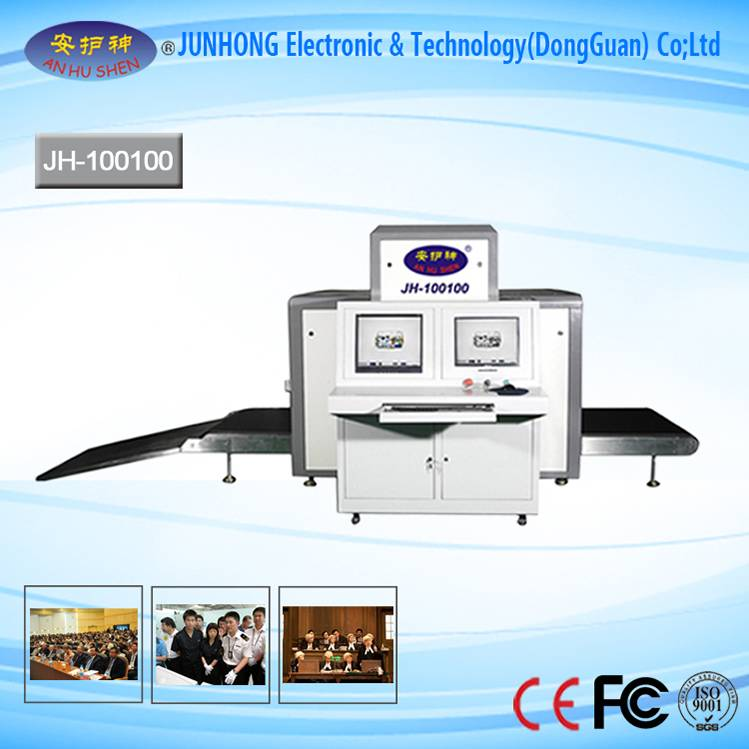 High Sensitive Color Images X-Ray Luggage Scanner