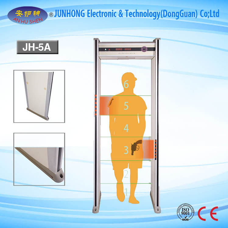 Öryggi Gate Full Body Scanner Metal Detector