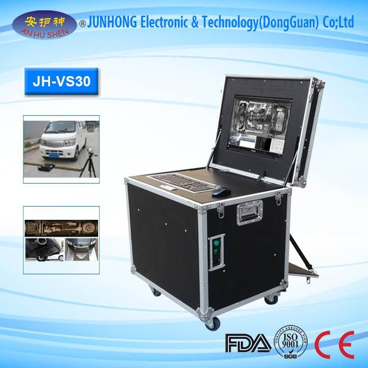Portable Under Vehicle Security Inspection System