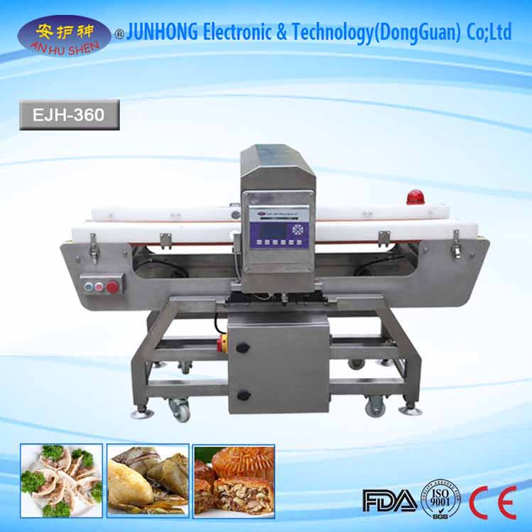 Touch Screen Metal detector For Bakery