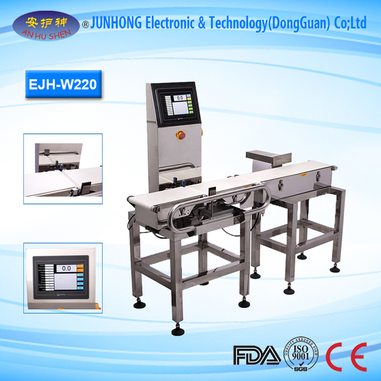 Multi-Weighing Zone Setting Sorting Machine