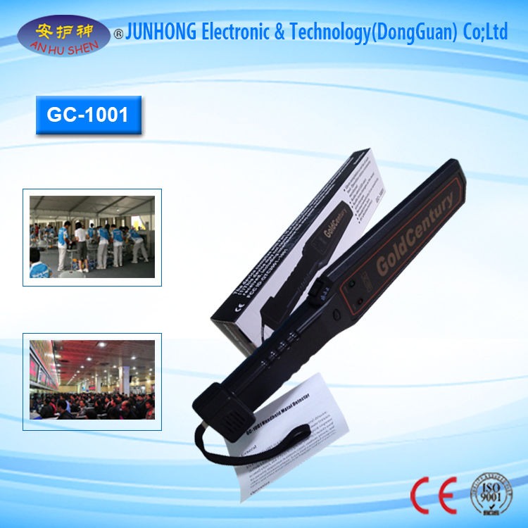 Factory Free sample Hand Held Metal Detectors - Hot Sale Hand Held Metal Detector – Junhong