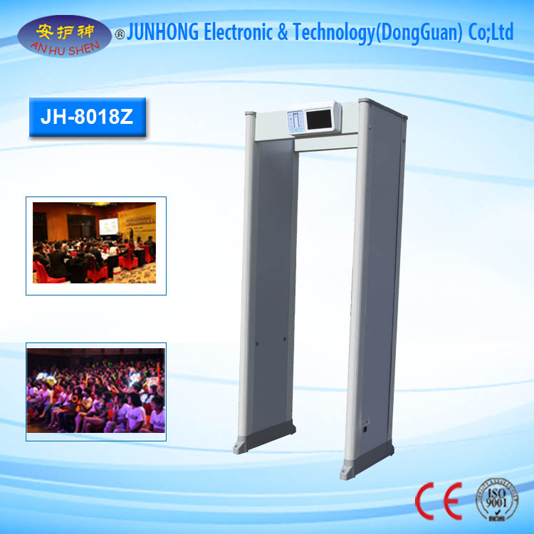 Europe style for Digital X Ray Equipment - Multizones Courts Walk Through Metal Detector – Junhong