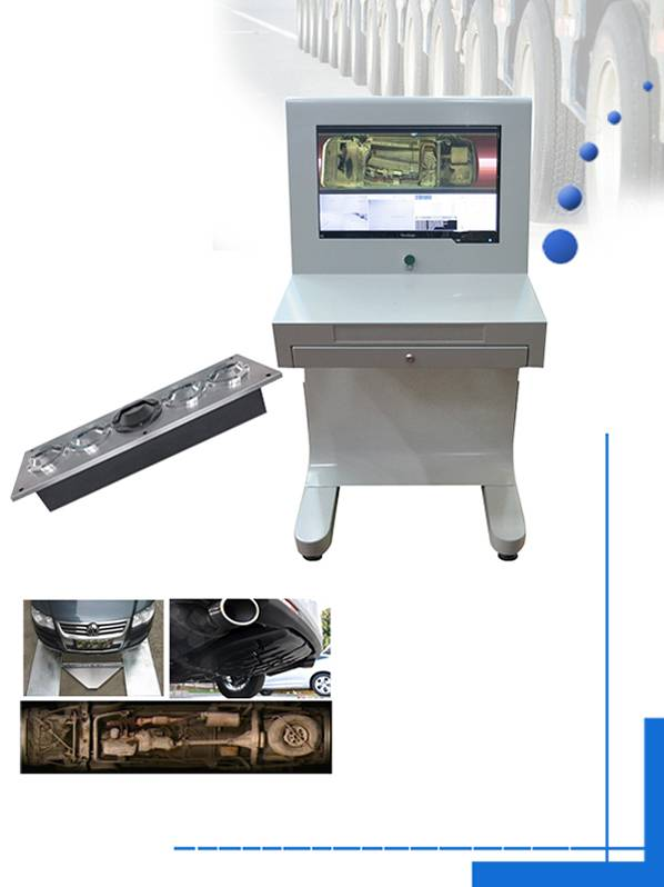 OEM China auto-conveyor metal detector - Image Identification Under Vehicle Bomb Detector – Junhong