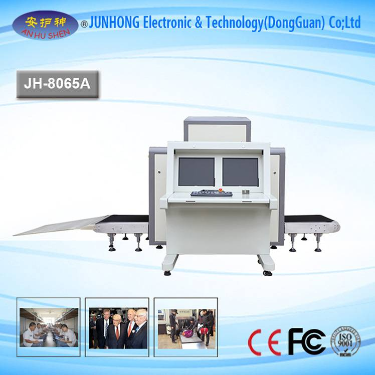 Security Cargo And Bag X-Ray Scanner Machine