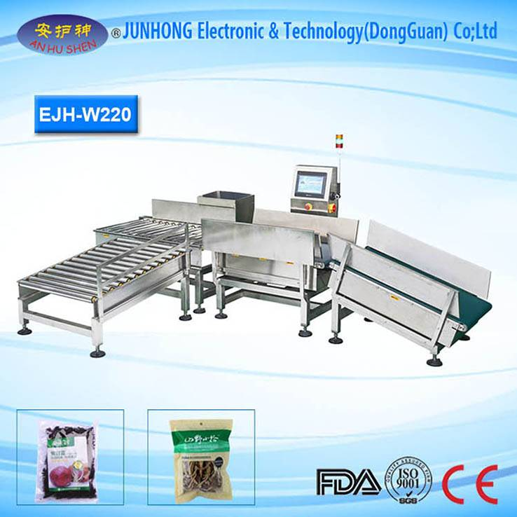Friendly Operation Check Weigher Machine For Chemical