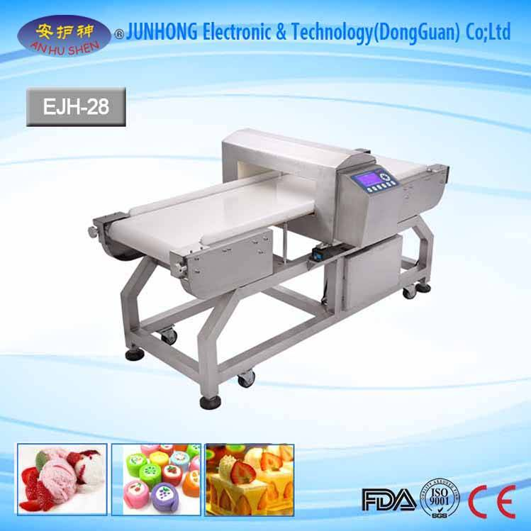 Easy Operation Food Metal Detector Machine