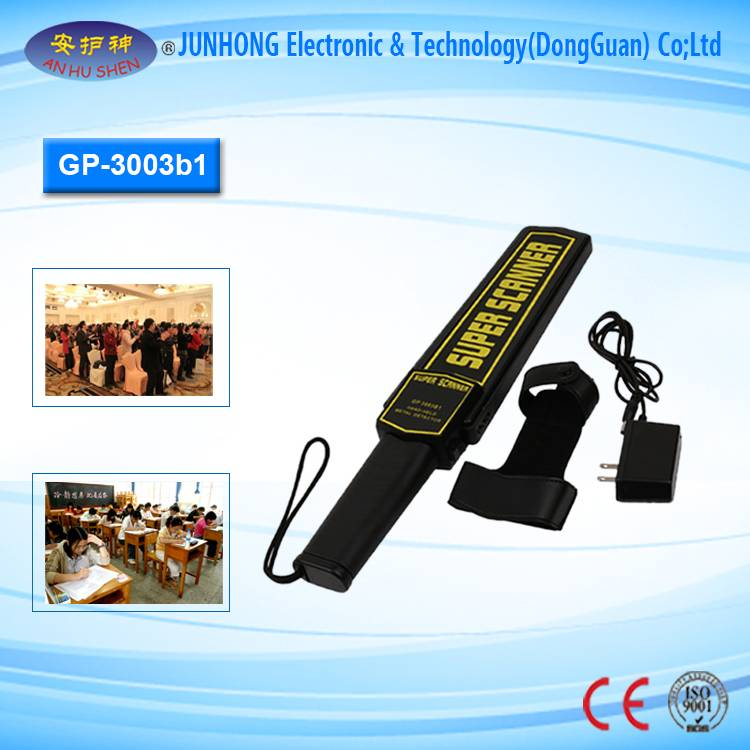 Popular Design for Ground Gold Detector - High Performance Hand Held Metal Detector – Junhong