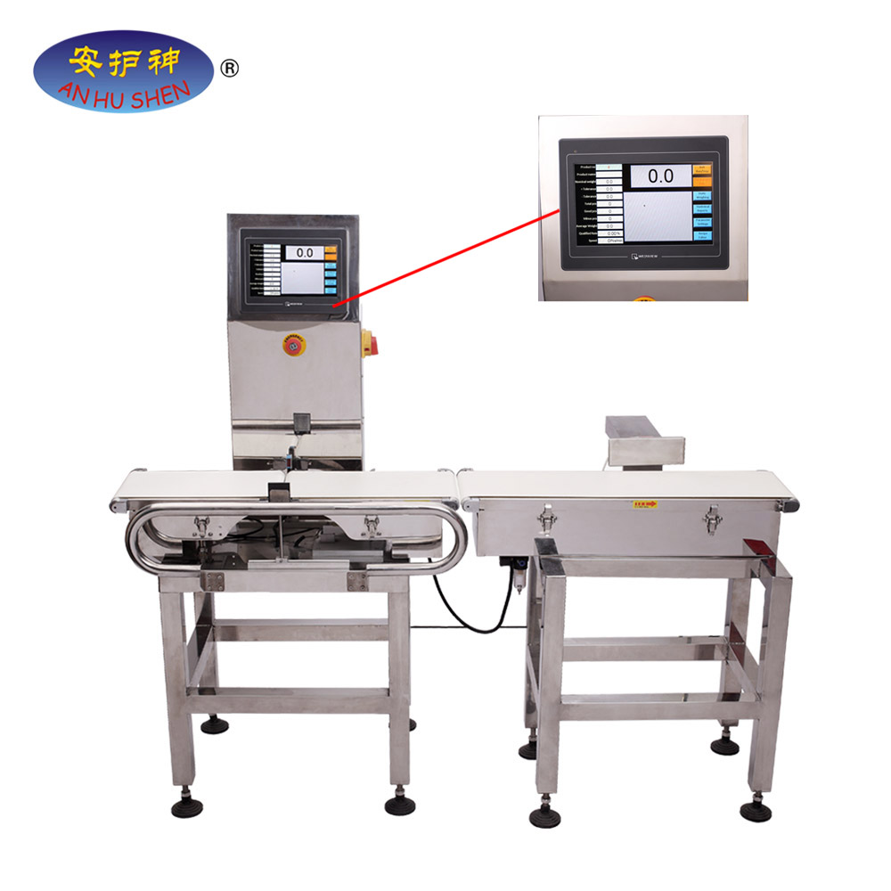 Elikagaien industria Check Weigher Machine