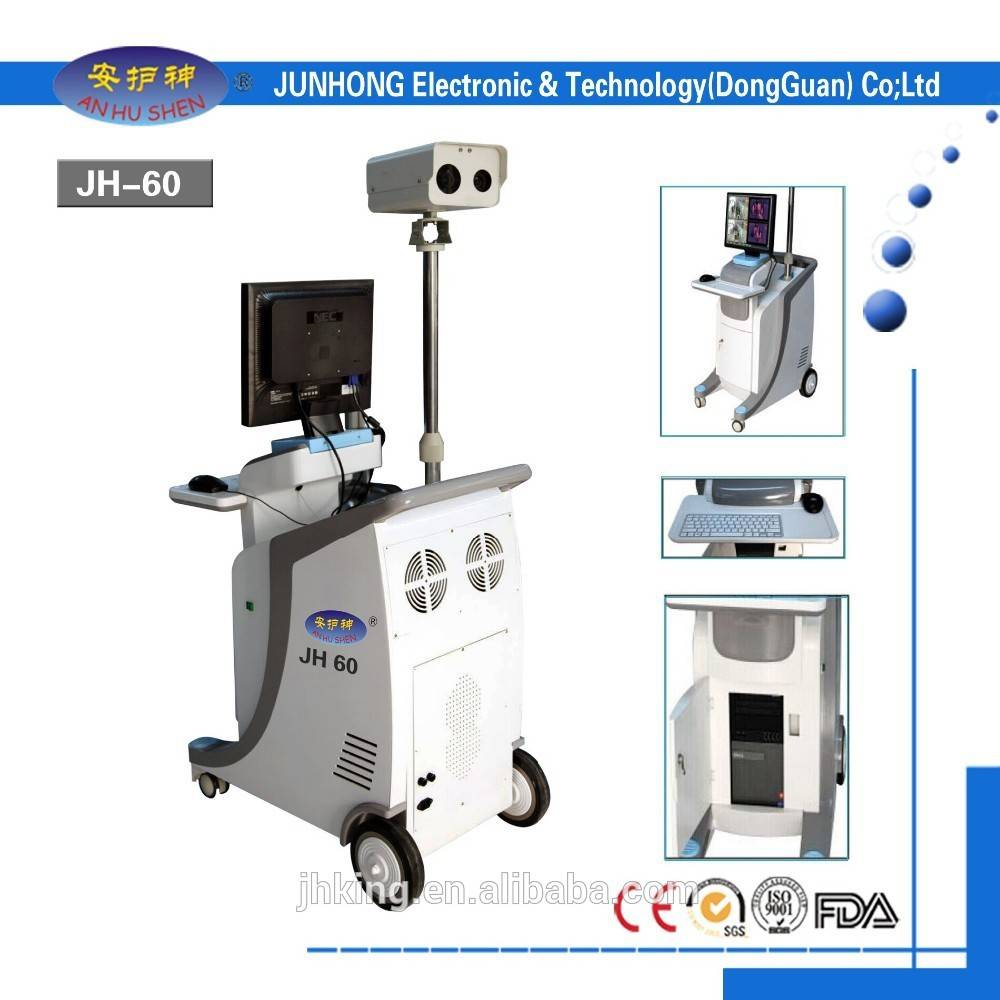 Factory selling Kiosk With Camera - Airport IR Full Body Temperature Screening System against Ebola Virus – Junhong