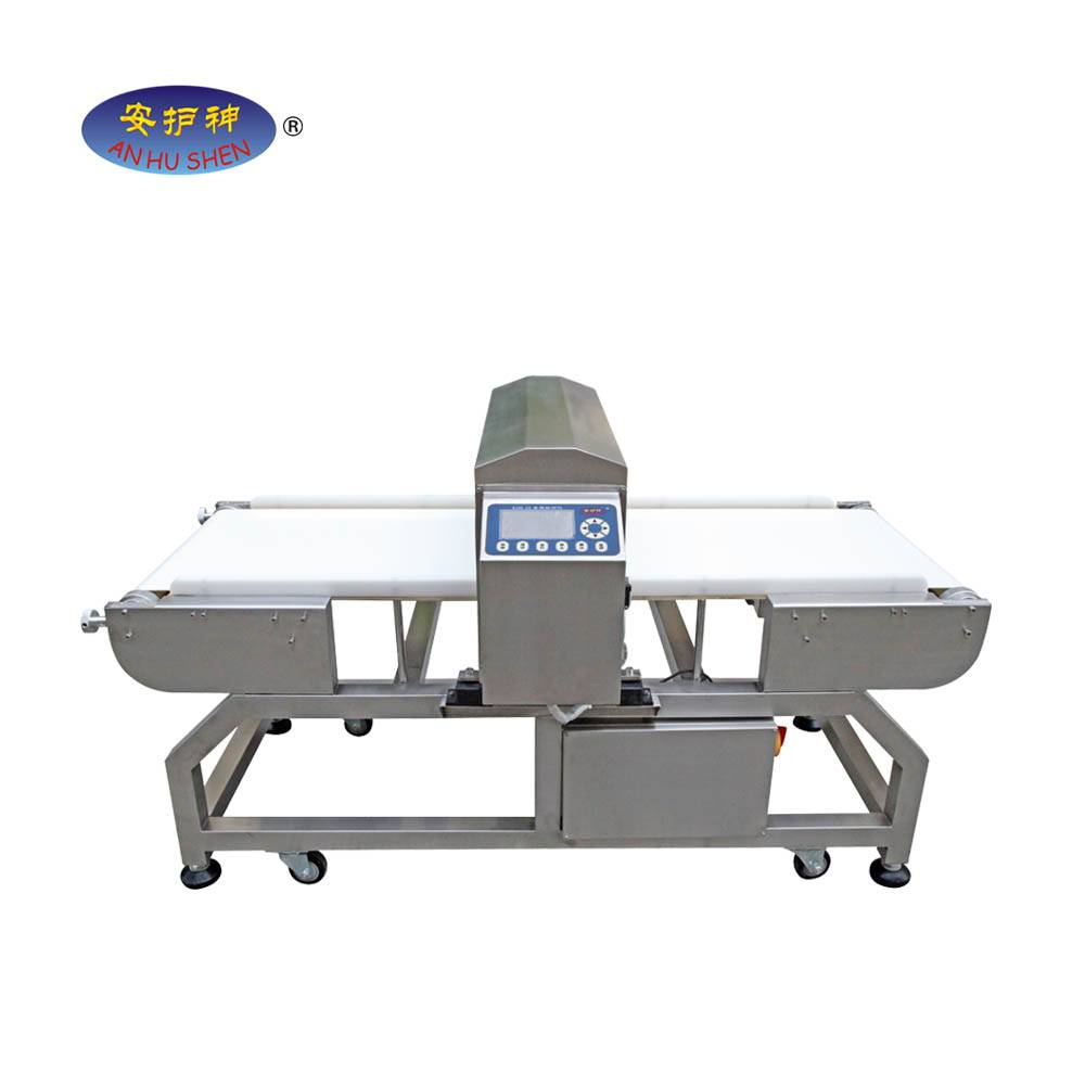 High reputation Online Checkweigher - Digital conveyor type metal detector for food processing flour bag – Junhong