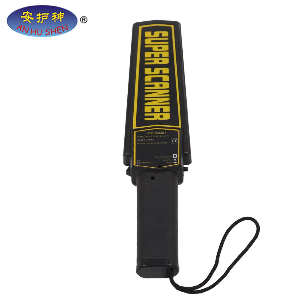 PriceList for Underground Metal Detector Md-3010 Ii - Cheap Hand Held Suepr Scanner Metal Detector – Junhong