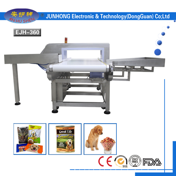 Industrial metalen Detectors foar ferwurking pet food
