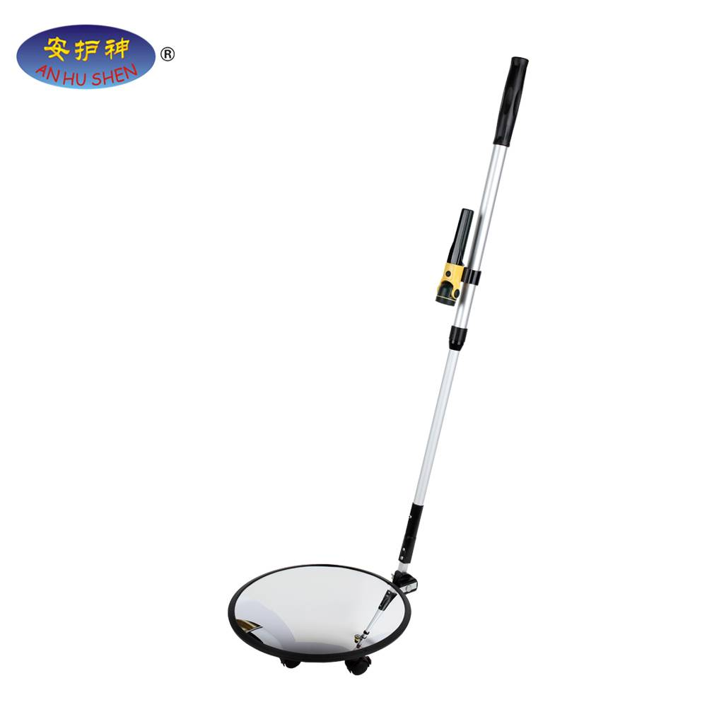 Cheap price Multi Zones Metal Detector - Portable car inspection mirror,Under vehicle inspection with LED light,Car safety inspection mirror – Junhong