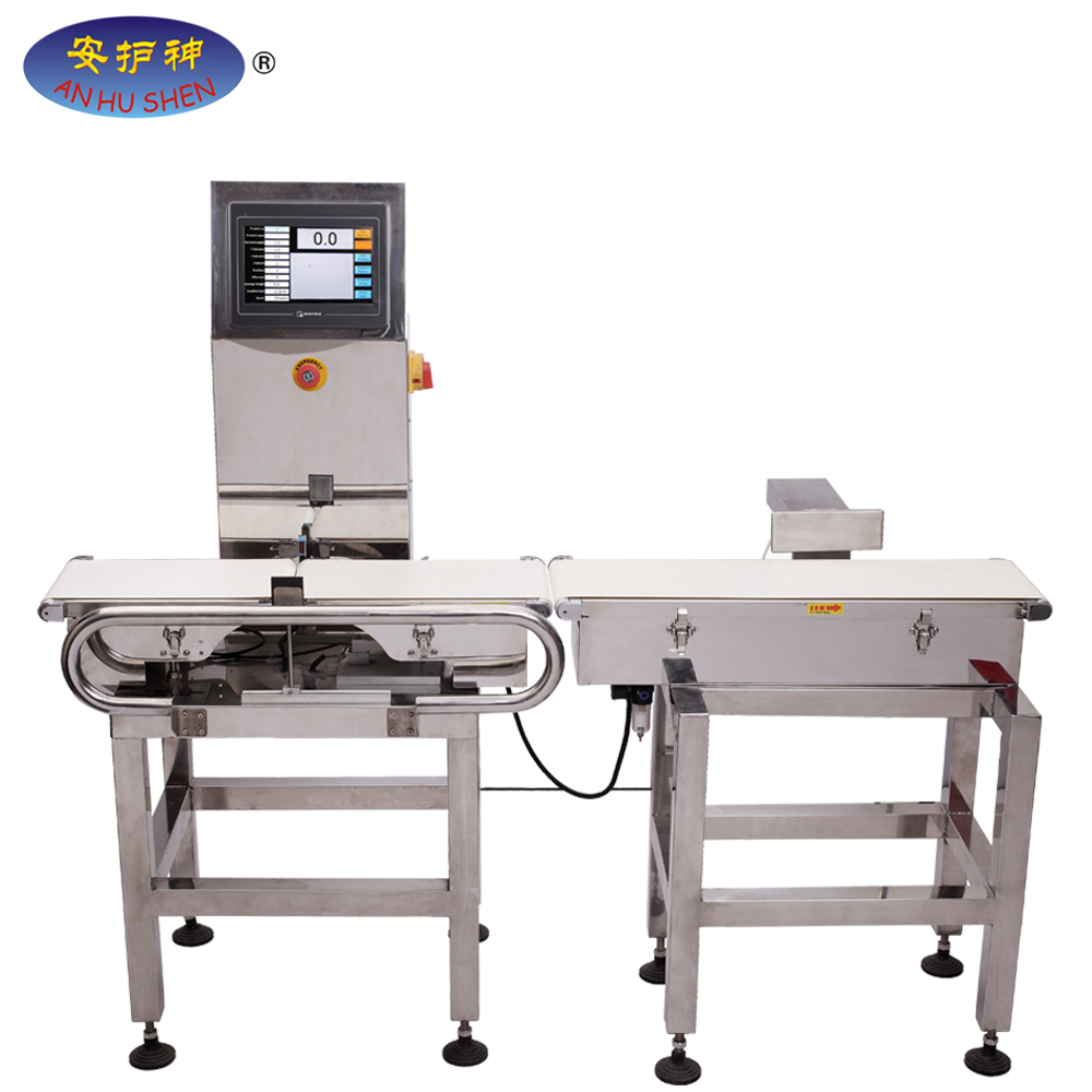 100% Original Door Frame Detector Gate - High speed food conveyor check weigher / Weight grading machine – Junhong