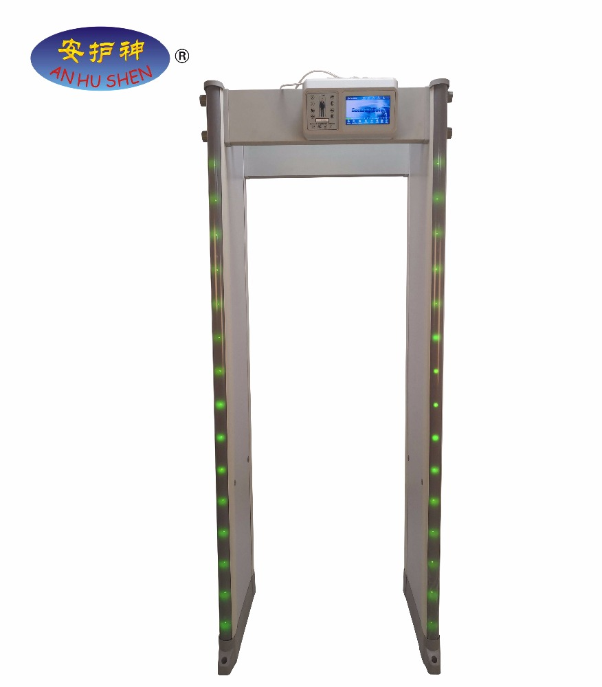 Discount Price Hand Held Metal Detector Gold Silver - 45 Zones Security Archway Walk through Metal Detector Gate – Junhong