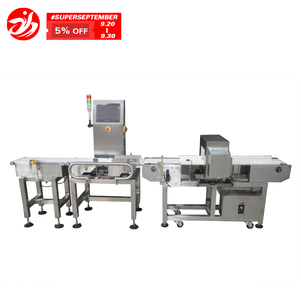 detector de metale combinate cu verificare weigher