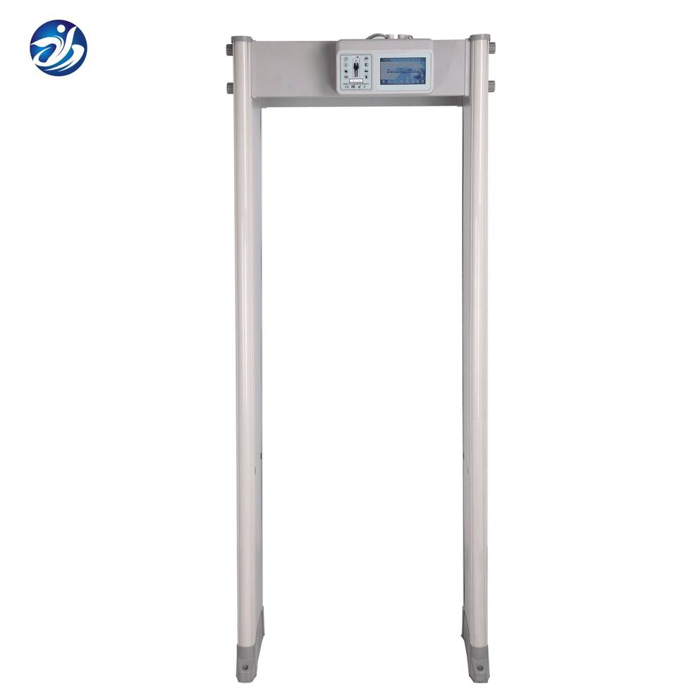 Remote Control Security Archway Gate Lcd Display Walk Through Metal Detector