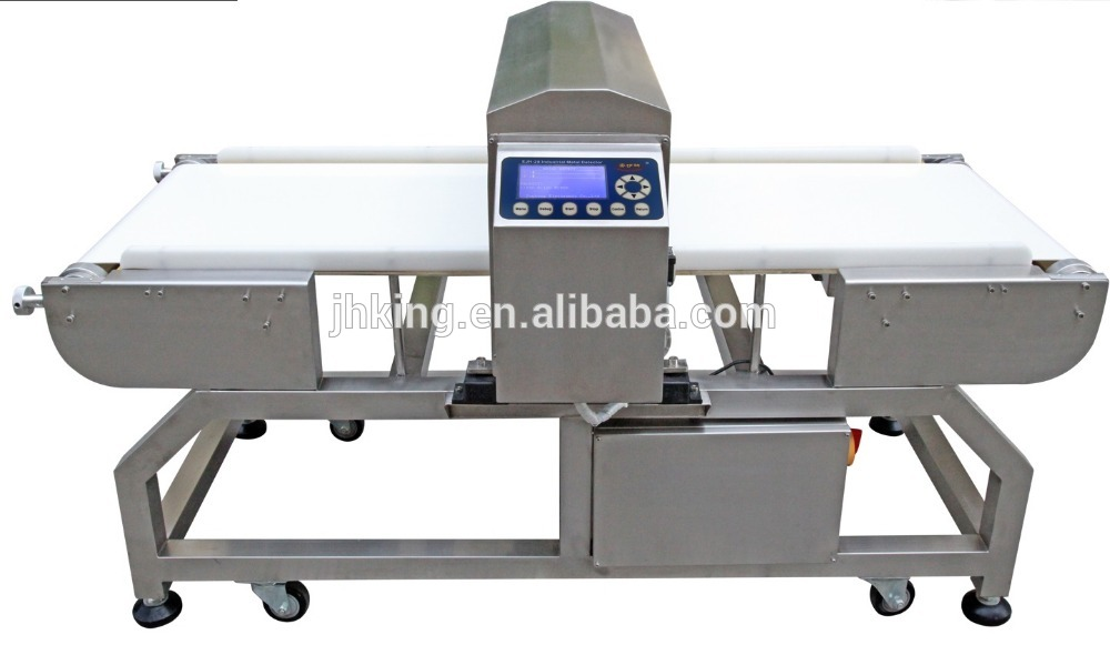 Sikker Mad og HACCP certificeret Conveyor Belt Metal Detector