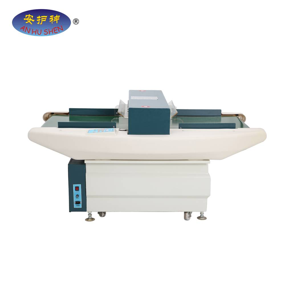 Hot selling automatic Broken needle metal detectors for textile industry