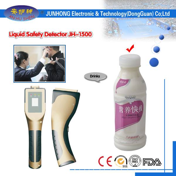 OEM Customized Gold Detector Device Water Detector - Hand Held Dangerous Liquid Scanner for Security detection – Junhong